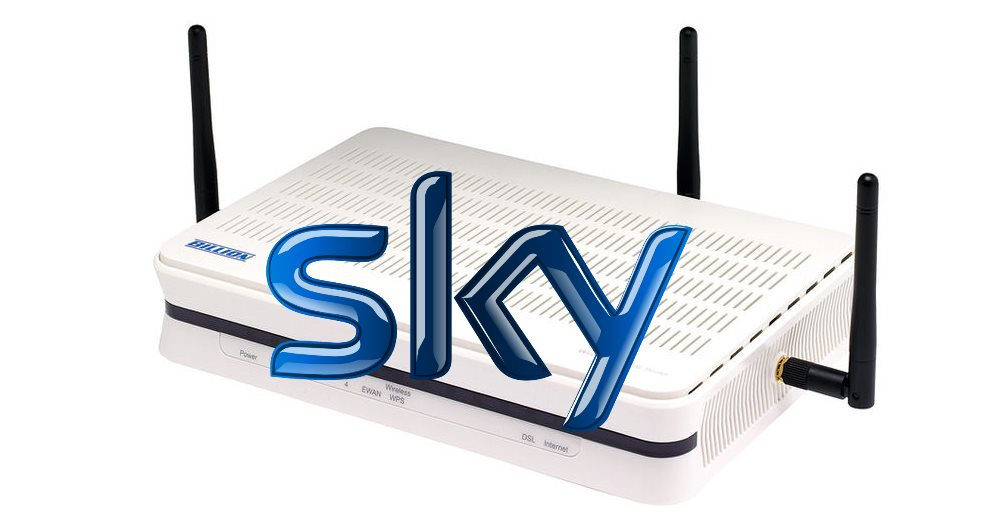 Using a Billion 7800N with Sky Broadband Unlimited and MER
