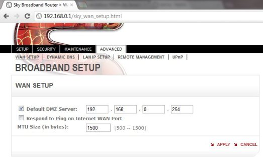 Sky Router Settings >> Using A Billion 7800n With Sky Broadband Unlimited And Mer