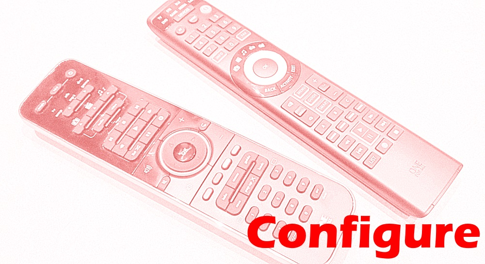 Configure One For All Universal Remote