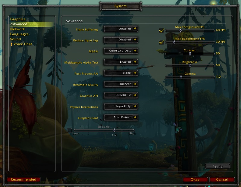 Graphics Settings Battle for Azeroth - ePINIONATED